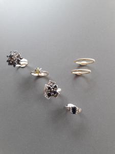 Reparaties en vegroten van ringen