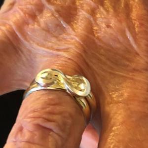 Verenigd in een ring na 60 jaar huwelijk (2)